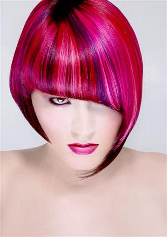 Картинки стрижка и окраска волос