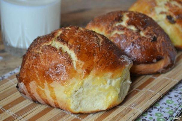 Рецепт домашних булочек без дрожжей