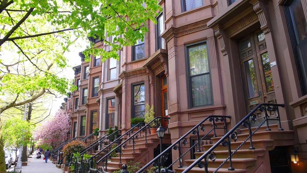 Дома в нью-йорке картинки