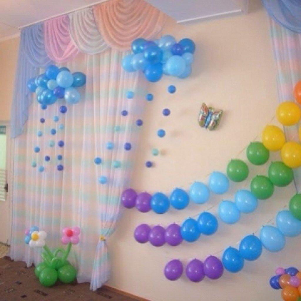 украшение шарами своими руками с картинками количество