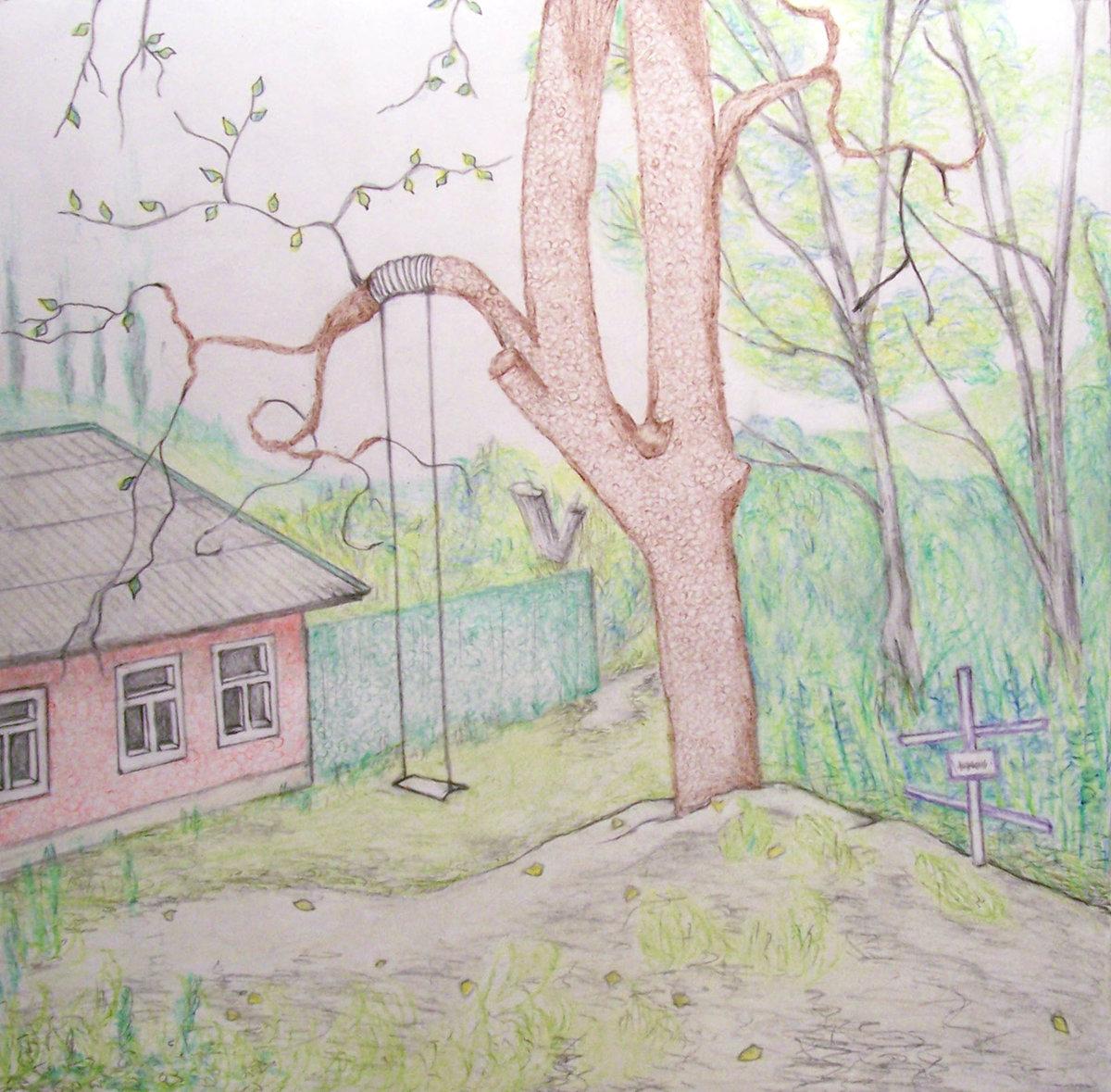 пояснице весенние рисунки карандашом легкие новый год