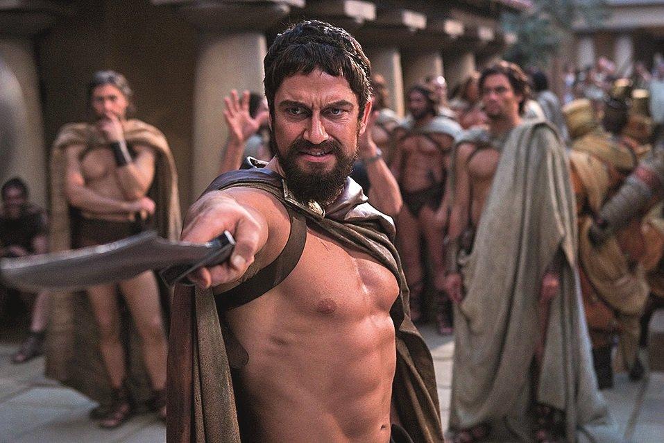 рассказать смотреть порнуху спартанцев теряй