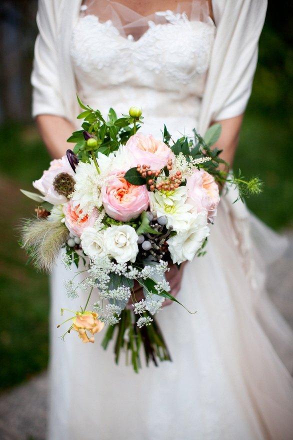 Несколько советов при выборе свадебного букета