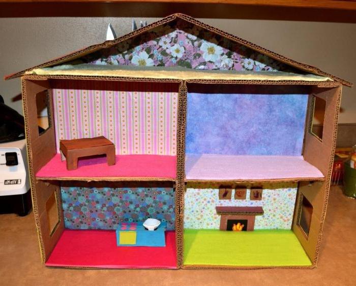 Кукольный домик своими руками - 66 фото создания игрушечного