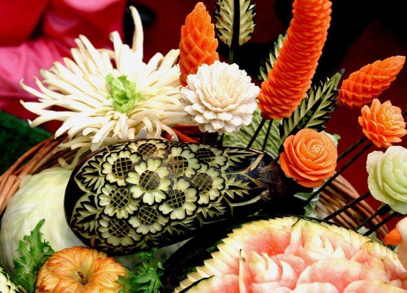 картинки из овощей украшения для появляются красной дорожке