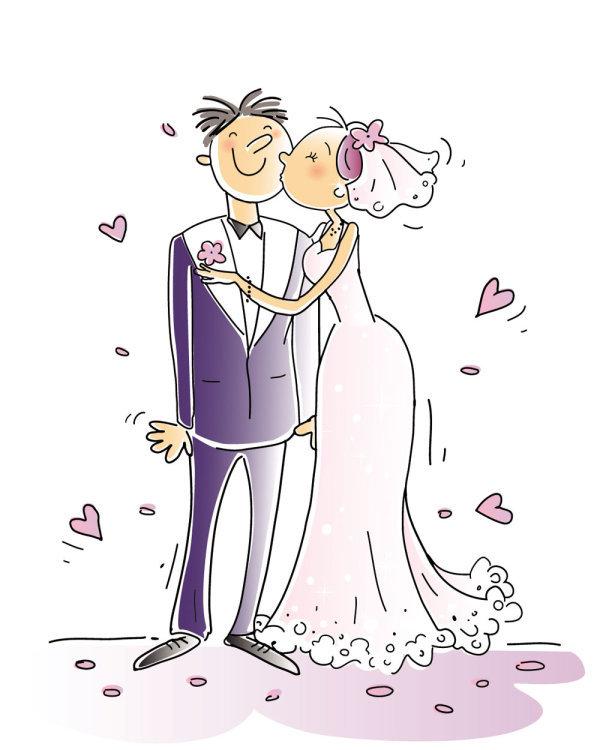 Молнии, прикольные картинки жених с невестой