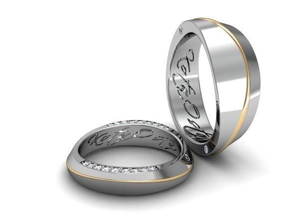 Нередко такие обручальные кольца специально изготовляют по авторскому  дизайну, в результате чего вы становитесь обладателями adb0e0fd77f