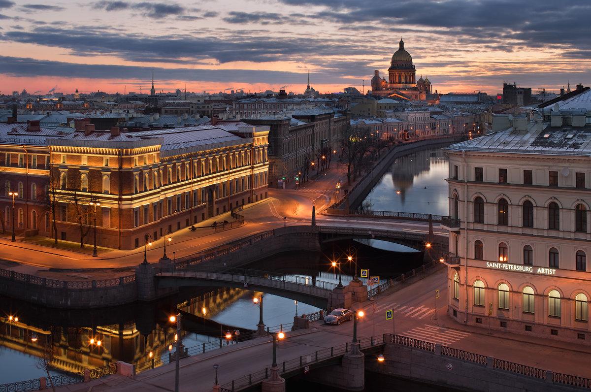 Автобусный тур в Санкт-Петербург из Саратова