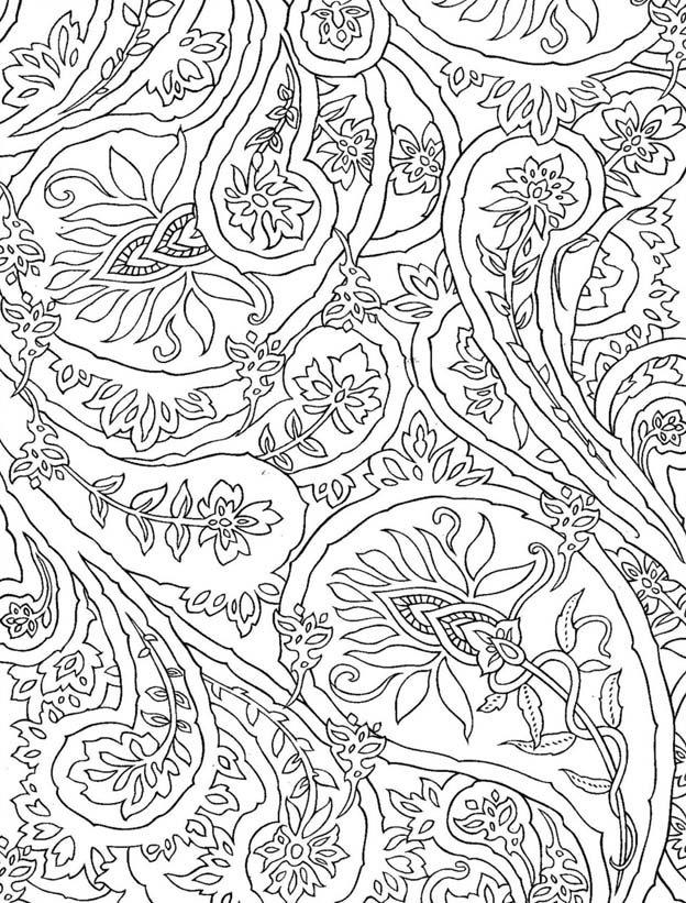 Картинки для успокоения нервов для раскрашивания