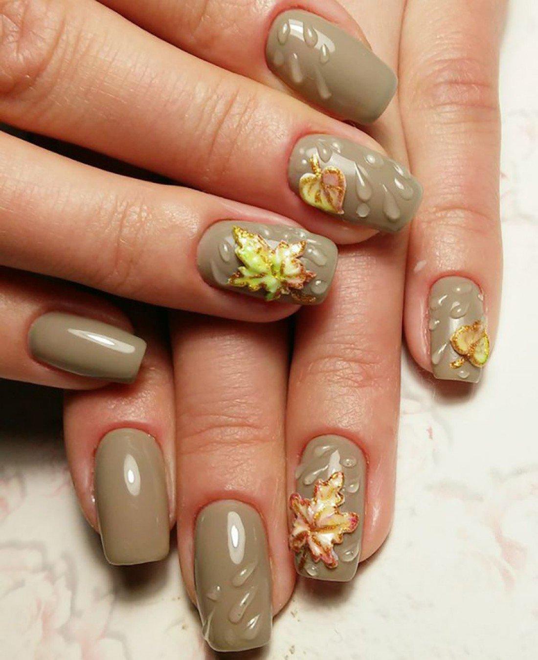 Дизайн Коротких Ногтей Блестками Фото
