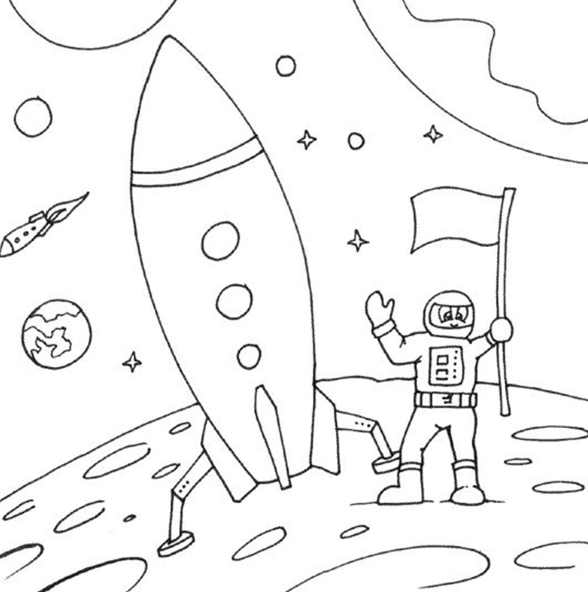 души желаю, картинка о космосе в карандаше качестве