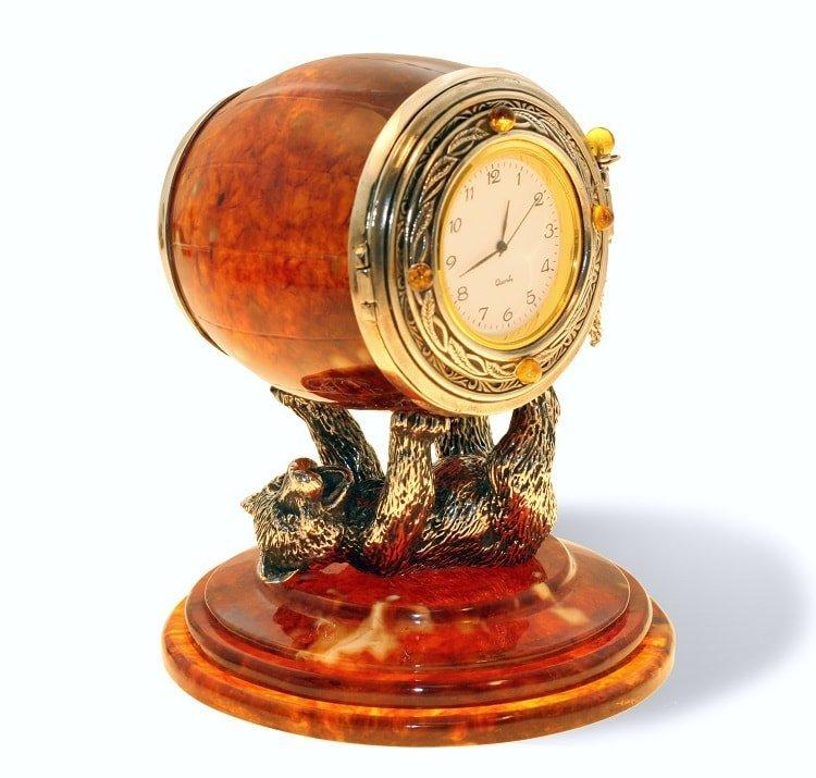 Sv-chs-5m сувенирные песочные часы из янтаря.