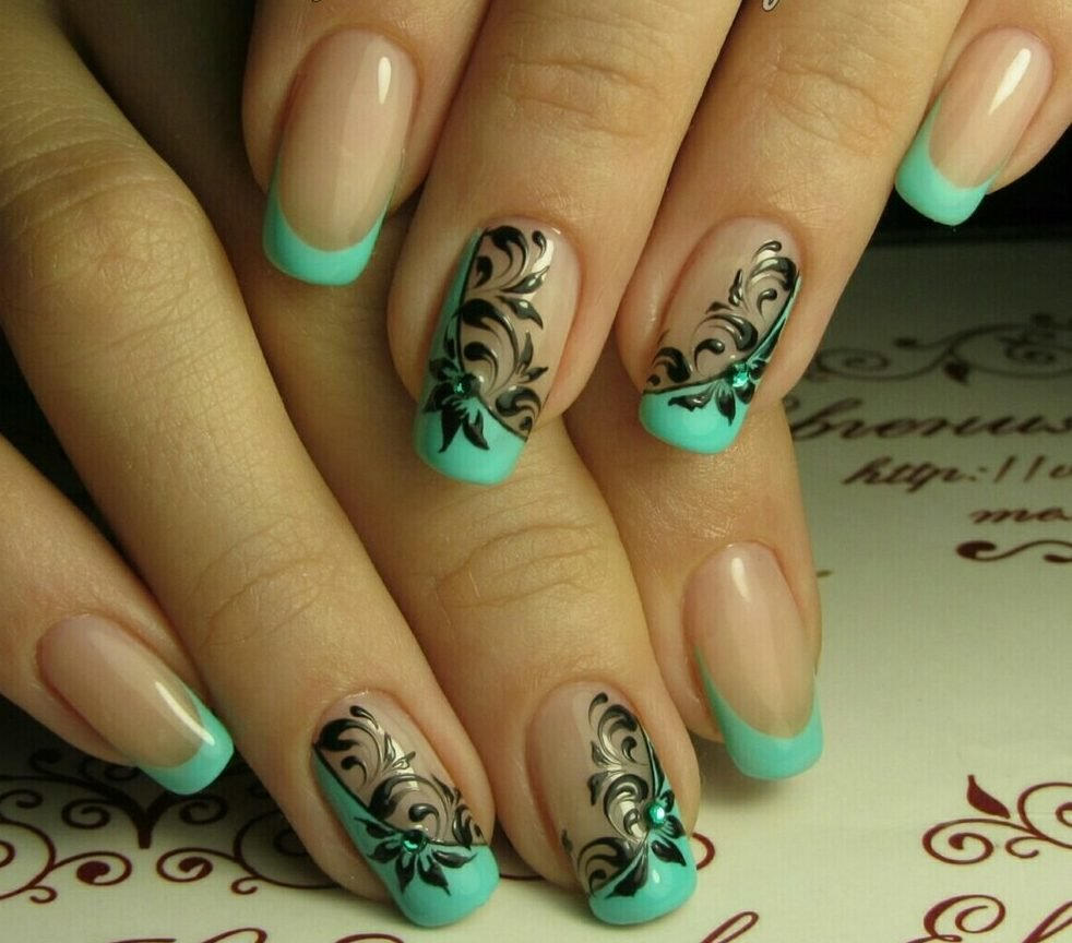 Дизайн ногтей фото 41