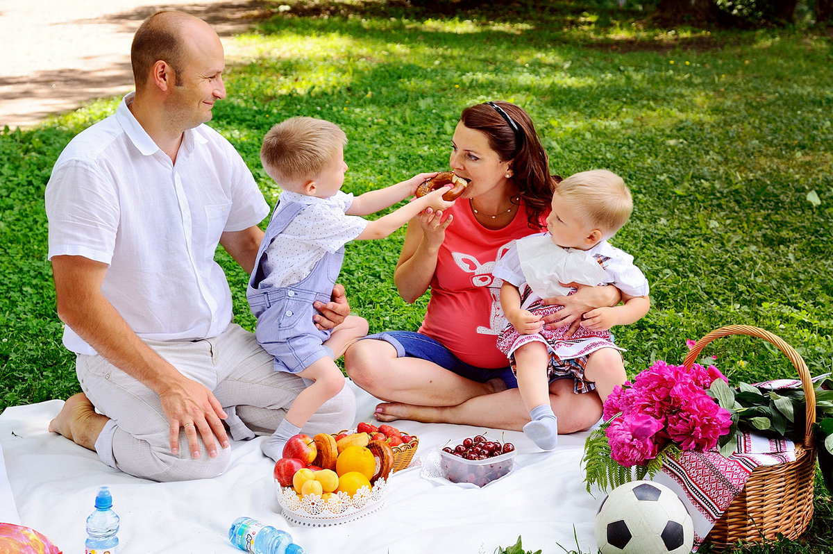 Пикник фото дети
