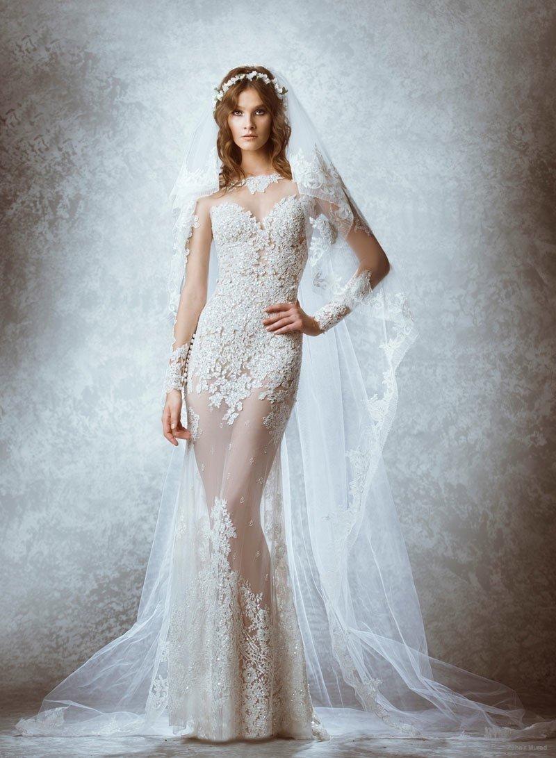 фото прозрачные платья невесты чем