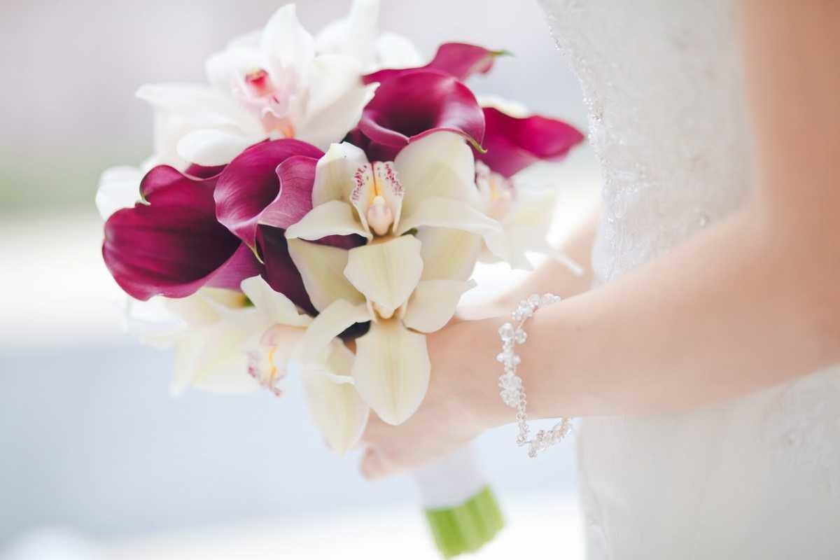 Букет невесты орхидеи спб