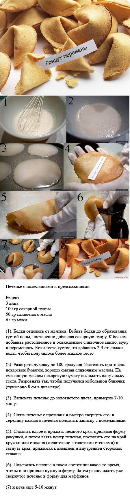самый легкий рецепт печенья в домашних условиях