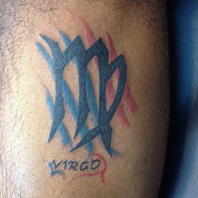 Татуировки С Знаком Зодиака Дева Фото