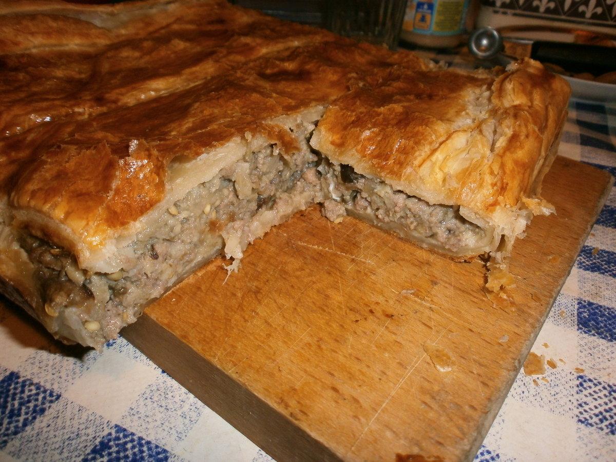 Мясные пироги рецепты пошагово с фото перед