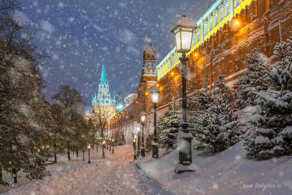 Картинки москва зимой 2018, днем рождения