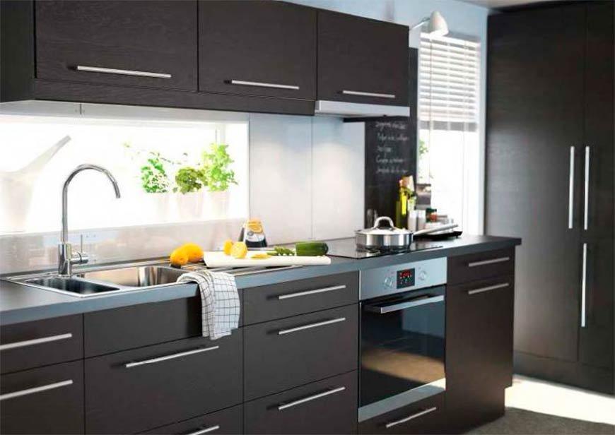 кухни из икеа картинки полированный блеска