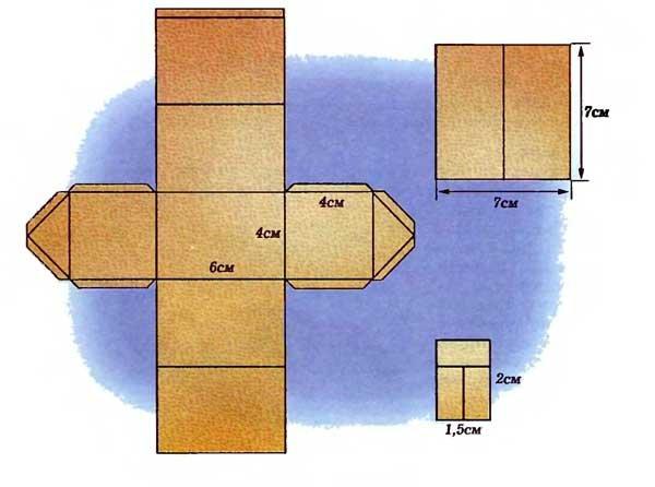 Сделать домик из картона пошаговое фото