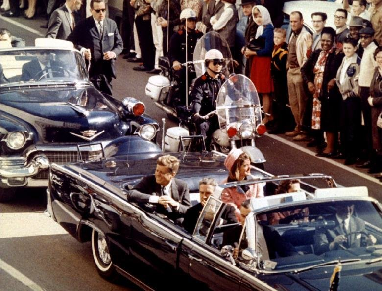 an account of events during the assassination of president john f kennedy in 1963