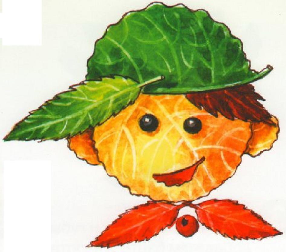 Картинки из осенних листьев своими руками для детей