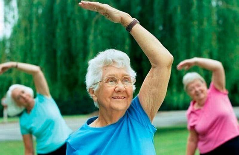 гимнастика с хлопками для пожилых людей