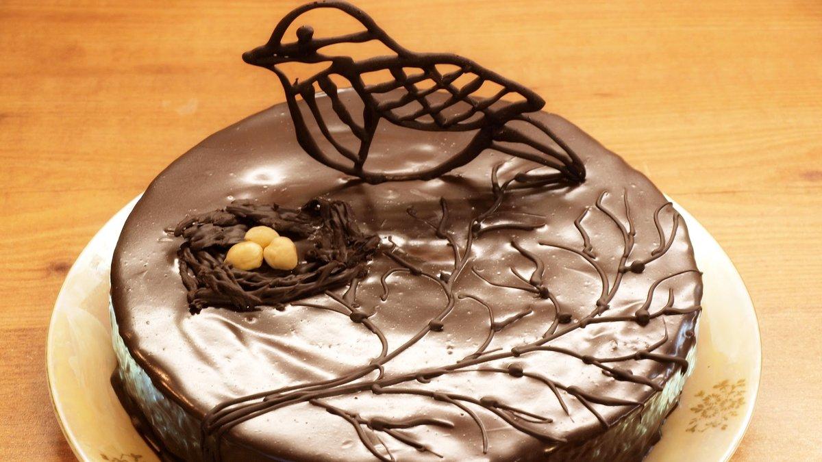 Сверкающая добрым, картинки из шоколада на торт
