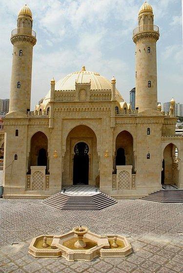 мечеть тезепир в баку