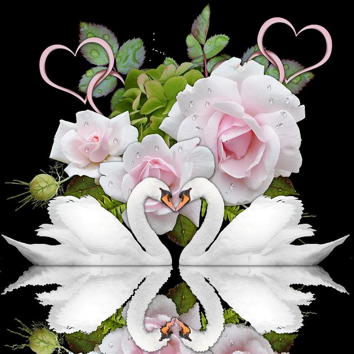 Открытки с днем свадьбы с цветами