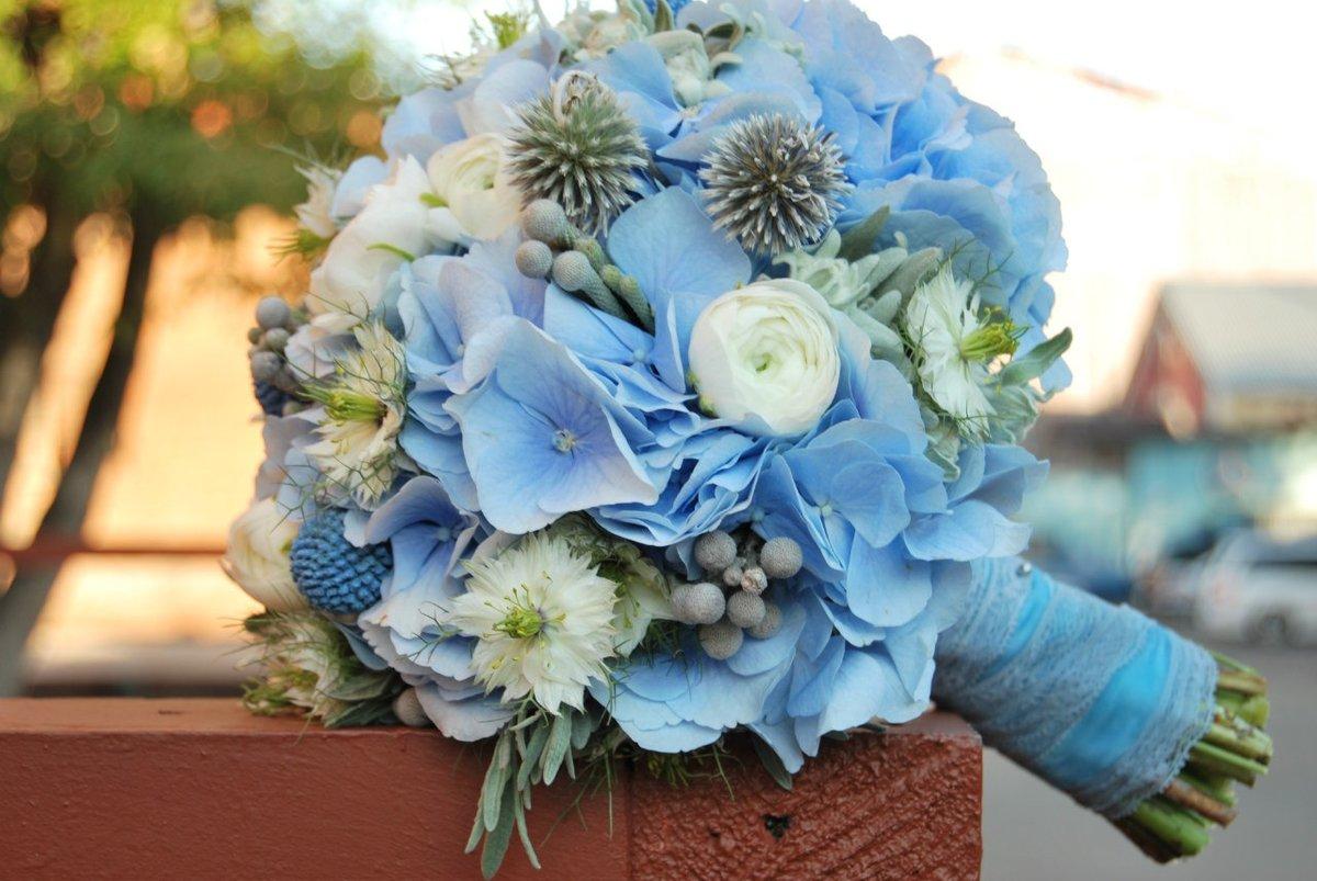 Розы рублей, свадебные букеты для невесты с синими цветами фото 2017