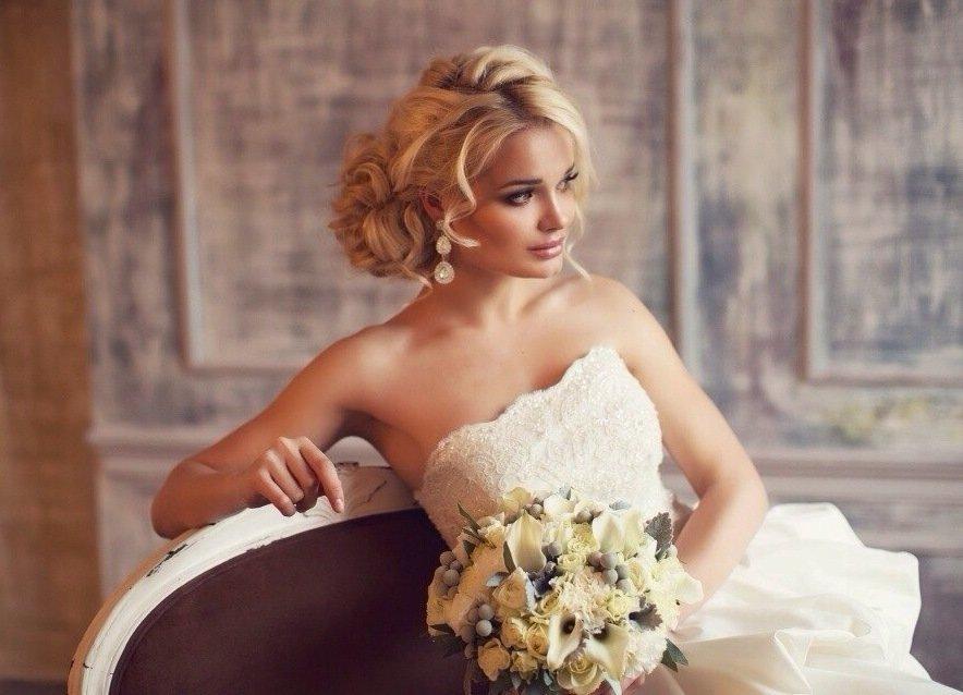 красивые невестки блондинки фото делали чуть