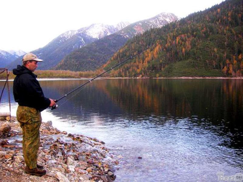 Летния рыбалка на байкале