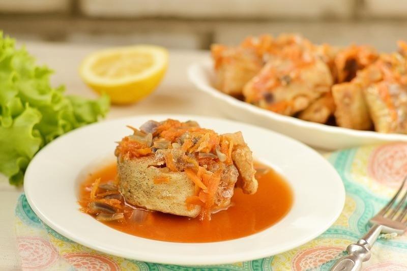 берен рецепты рыбы в маринаде с овощами фото это