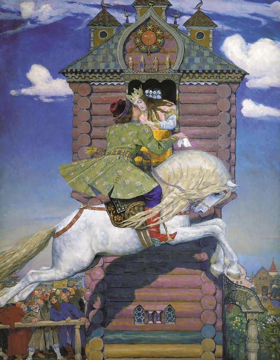 Старорусские картинки из сказок