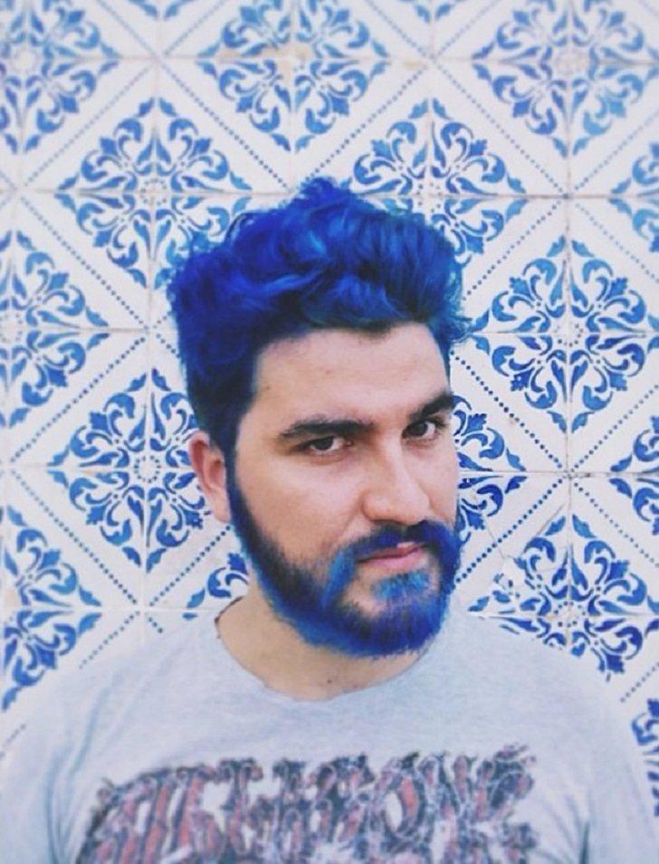 фото синие парни