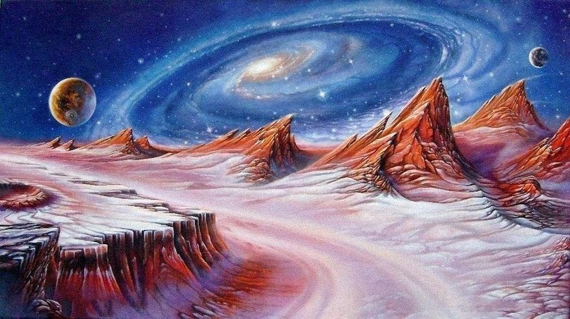 Картинки космические фантазии