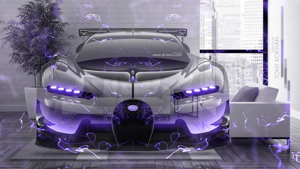 Bugatti Vision Gran Turismo FrontUp Super Energy Transformer