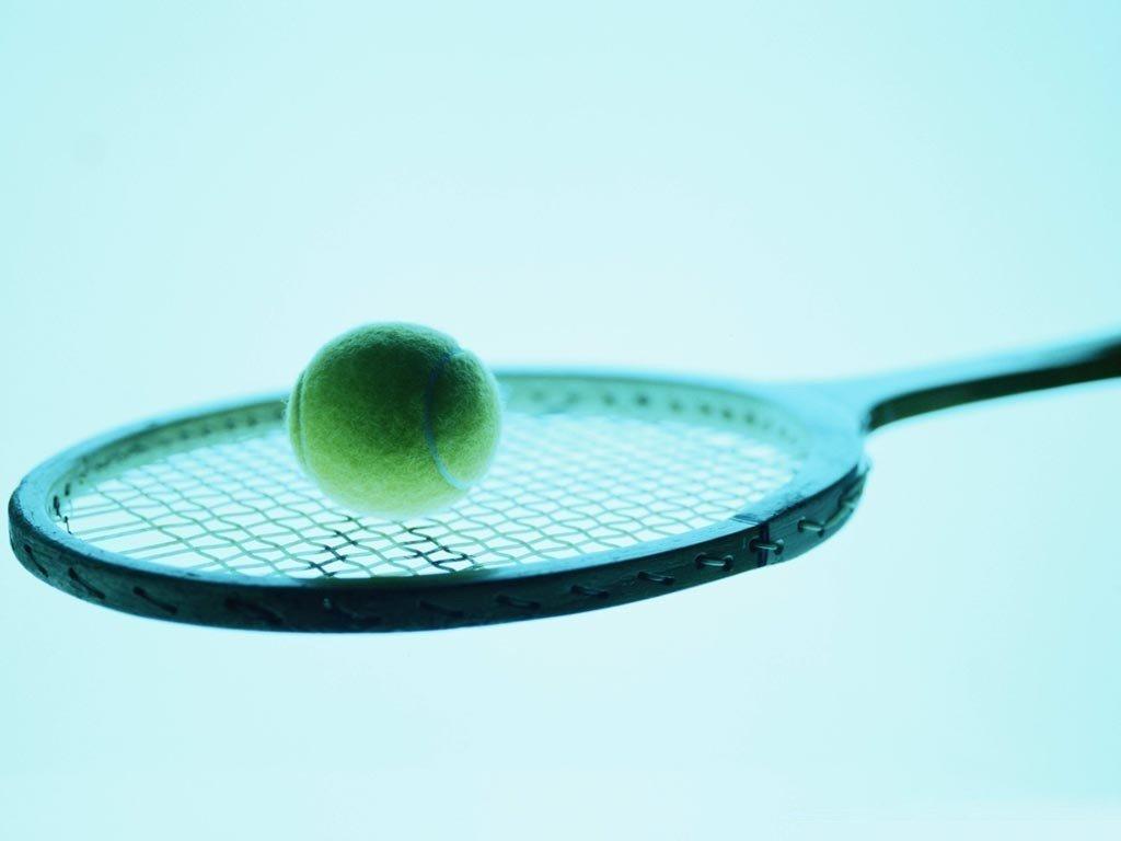 Открытки с теннисной ракеткой