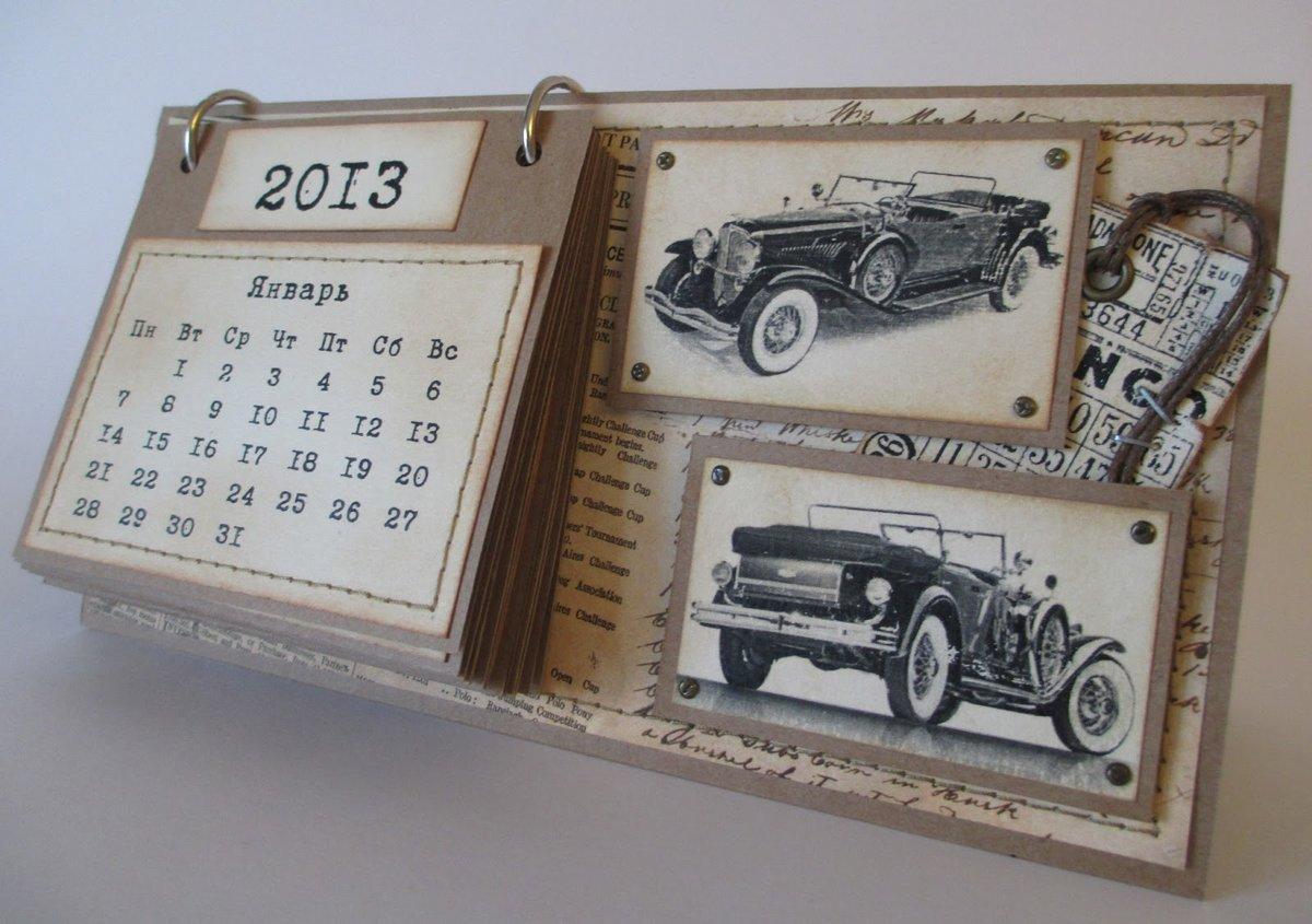 Перекидной календарь своими руками фото 281
