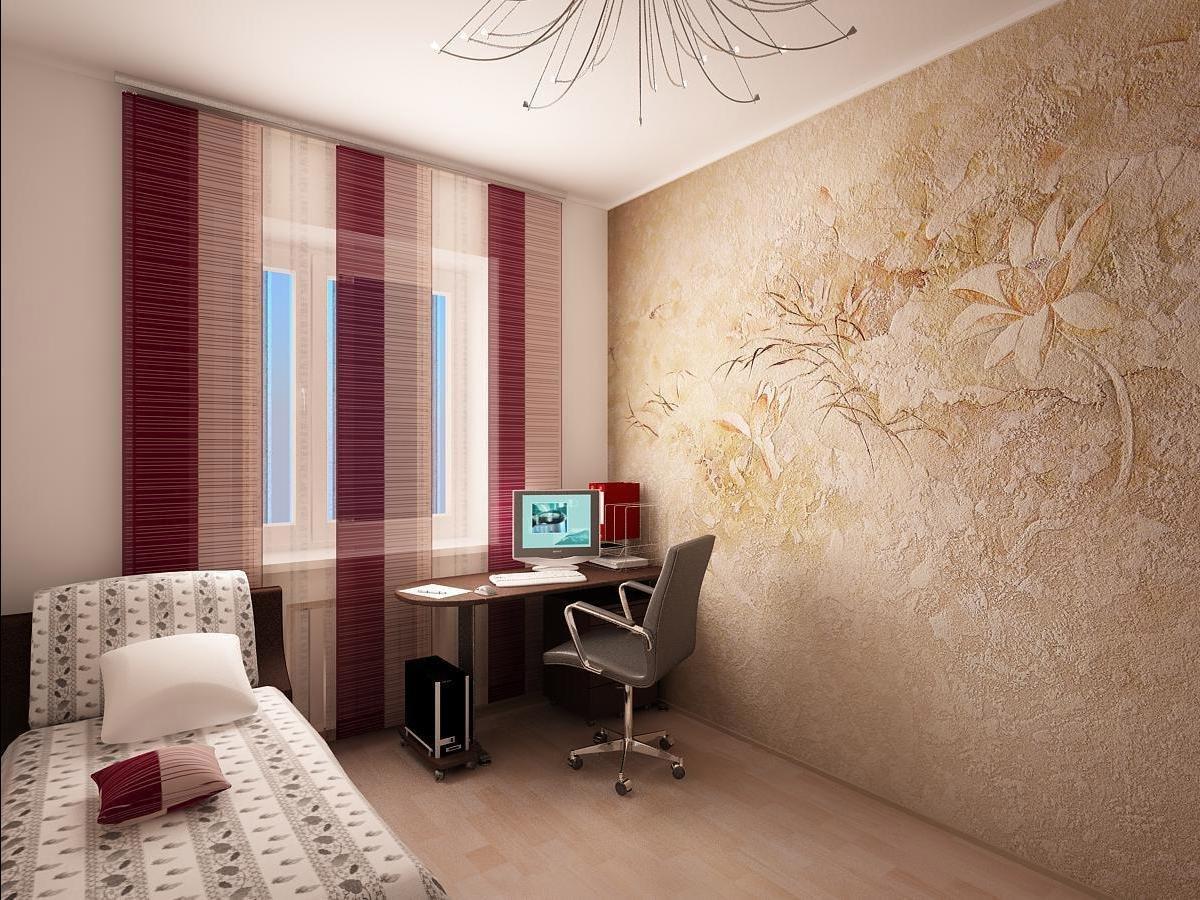 комната без обоев дизайн фото уже