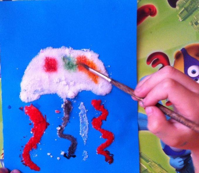 картинка для рисования солью кантемиров сочетал себе