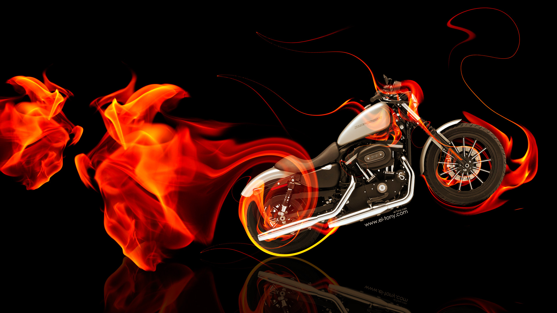 Moto Harley Davidson Side Super Fire Bike 2014 HD Wallpapers Design ...