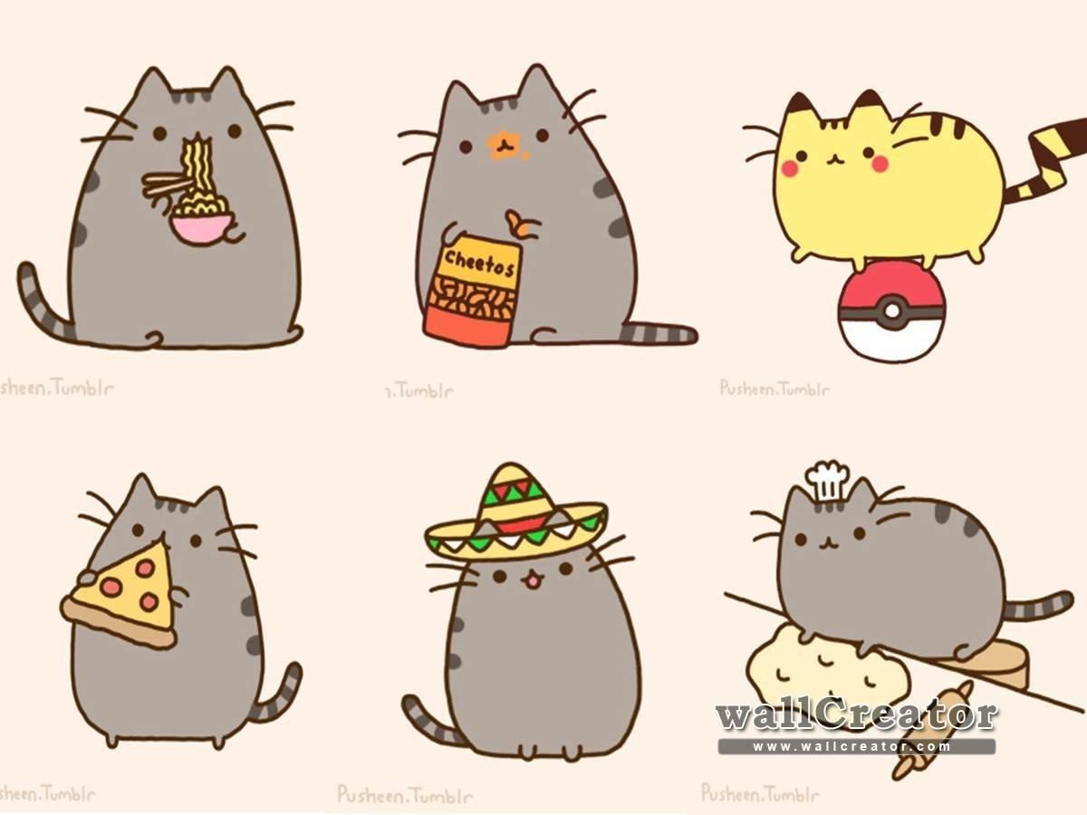 Download Pusheen Cat Wallpaper Gallery
