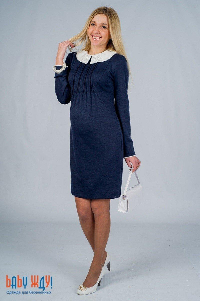 4f42ae39bf37 Офисные платья для беременных синее» — карточка пользователя ...