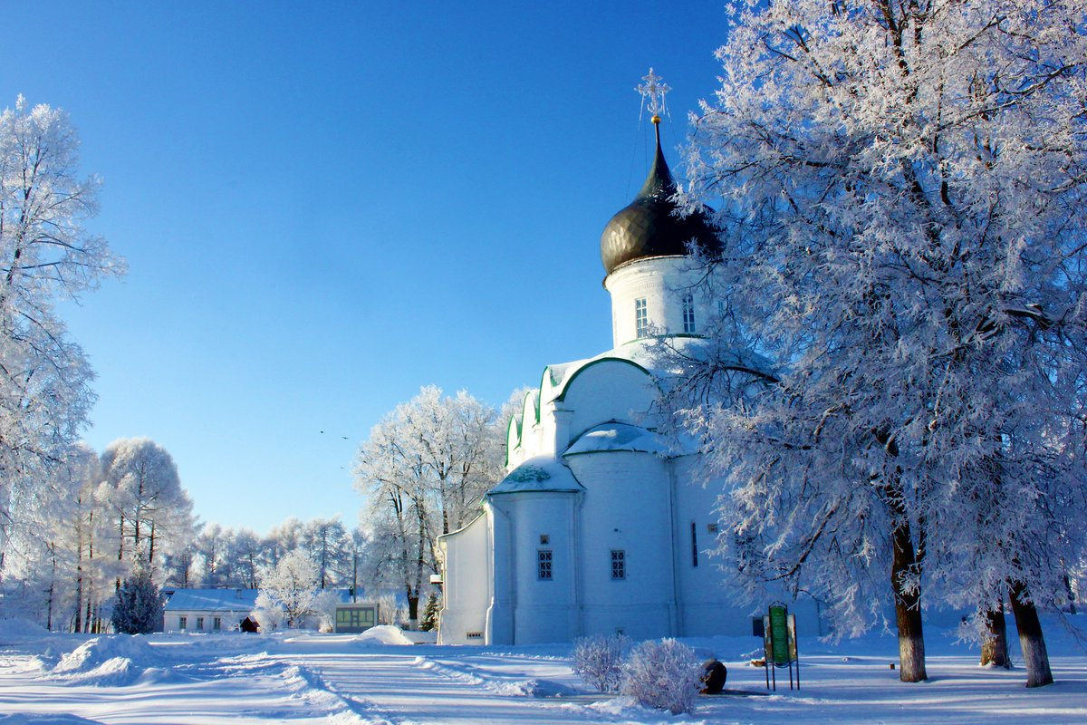 Зимние церквушки картинки