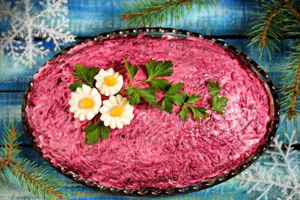 узнаете, оформление красиво салата шуба фото обожает, другие считают