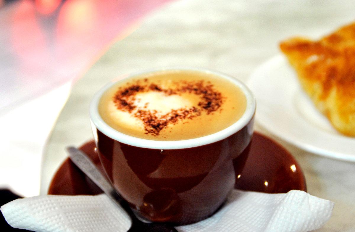 Картинки с ангелочками и сердечками кофейни есть